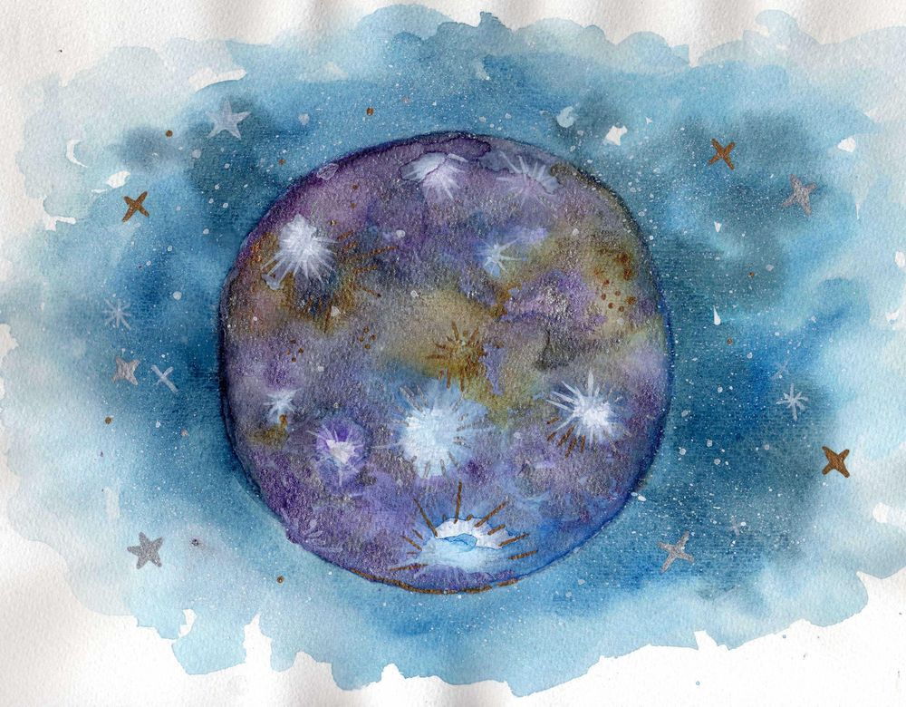Fantasy moon  - image 6 - student project