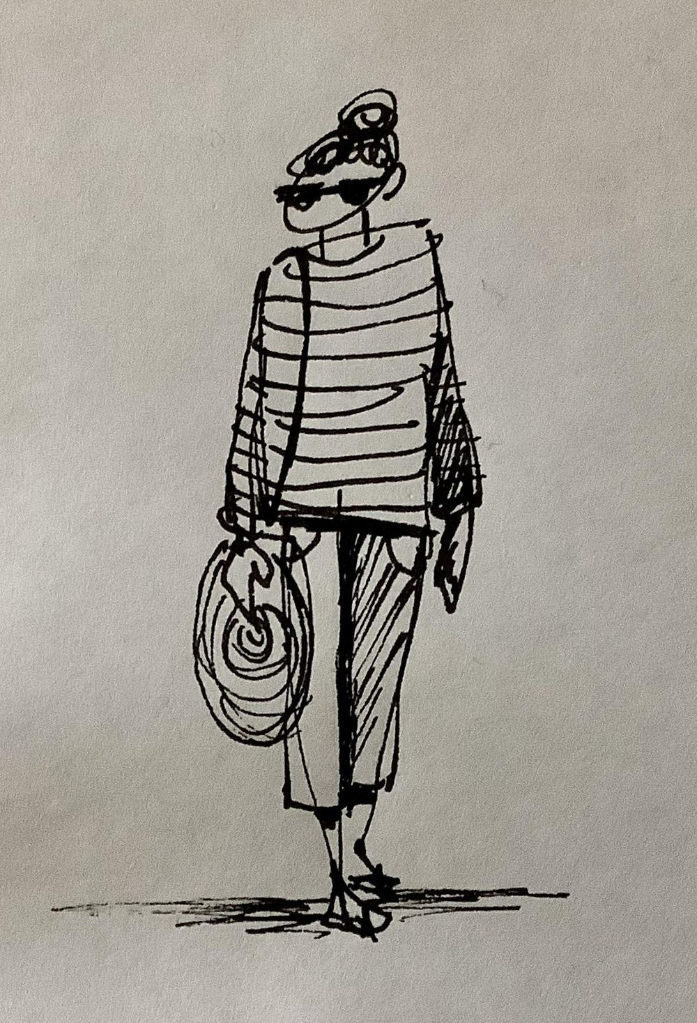 Urban sketching: Drawing people - image 1 - student project