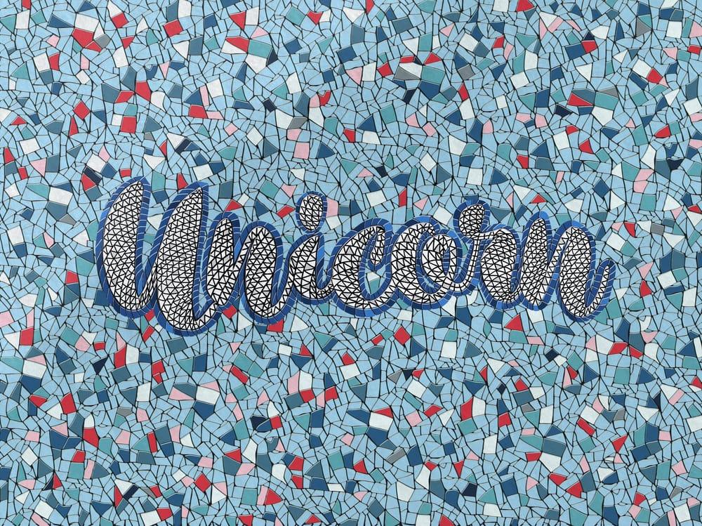 Fauxsaic Unicorn - image 1 - student project