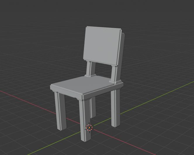 Kindergarten Chair - image 1 - student project