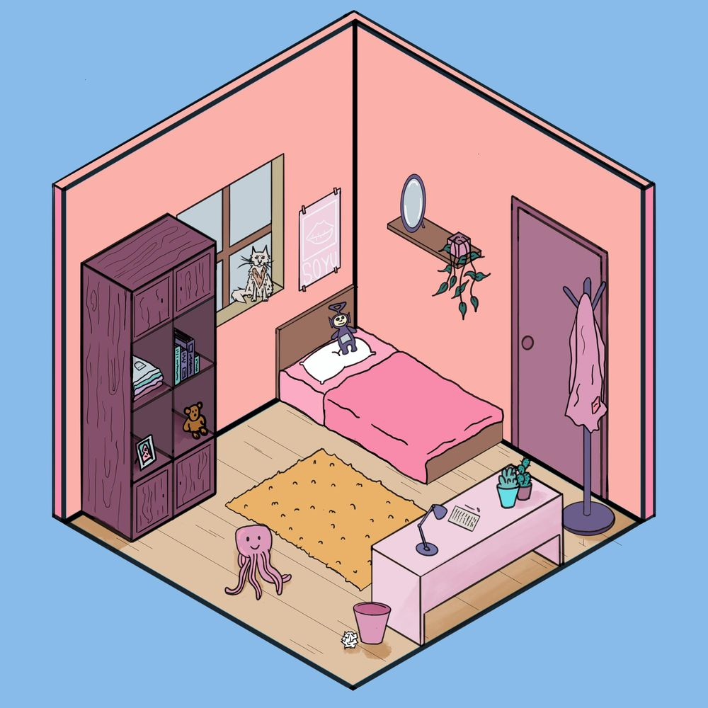 Isometric room - image 1 - student project