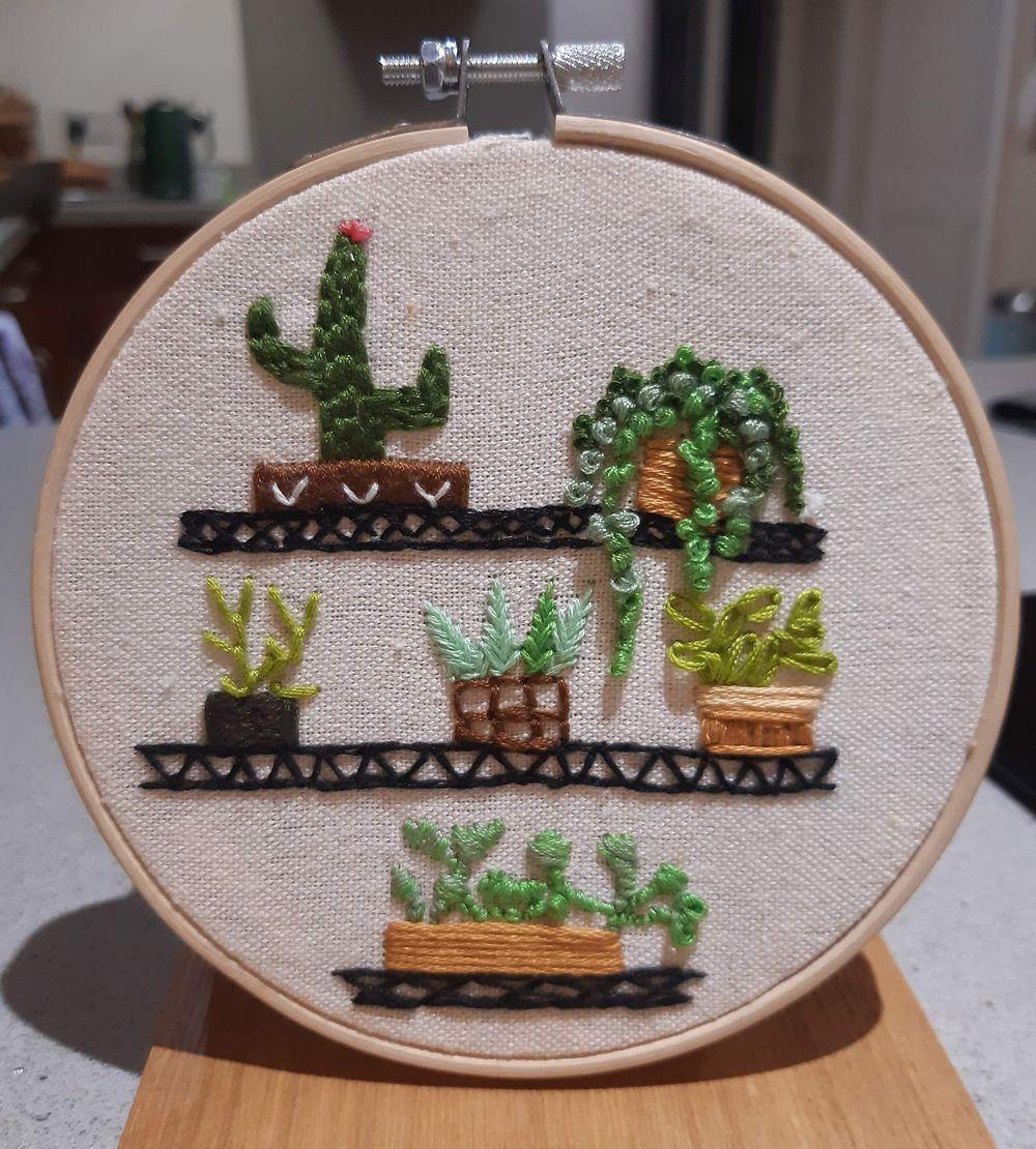 Plants on a shelf - image 1 - student project