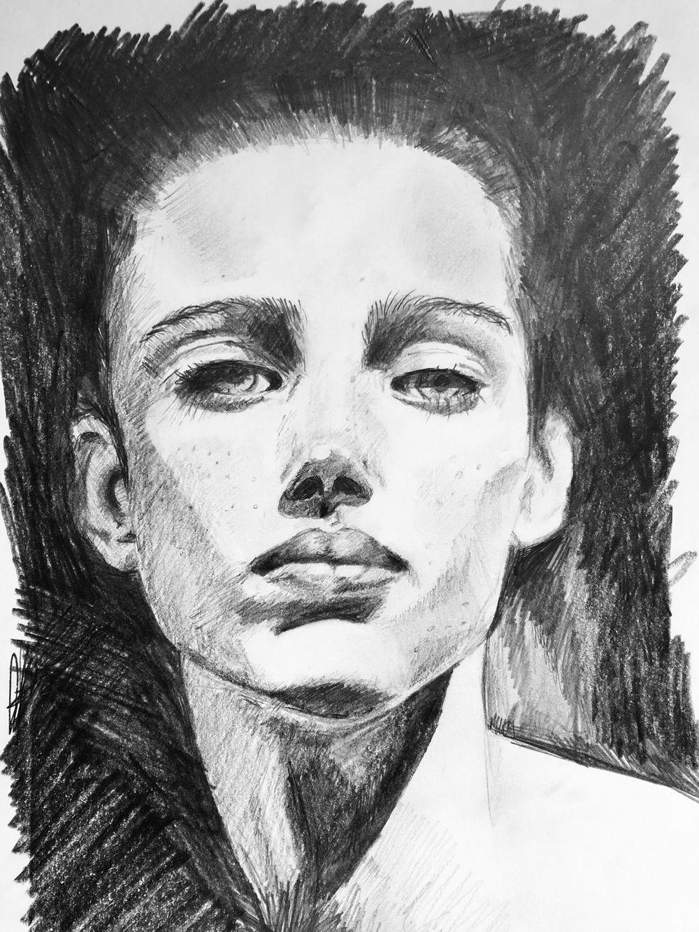 portrait practice - image 2 - student project