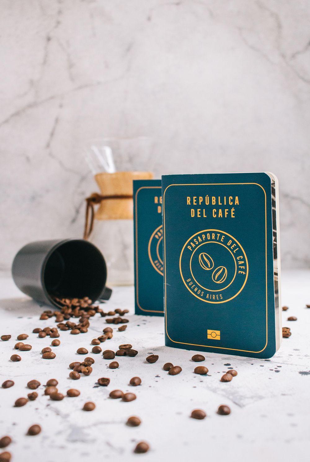 Coffee Passport - image 2 - student project