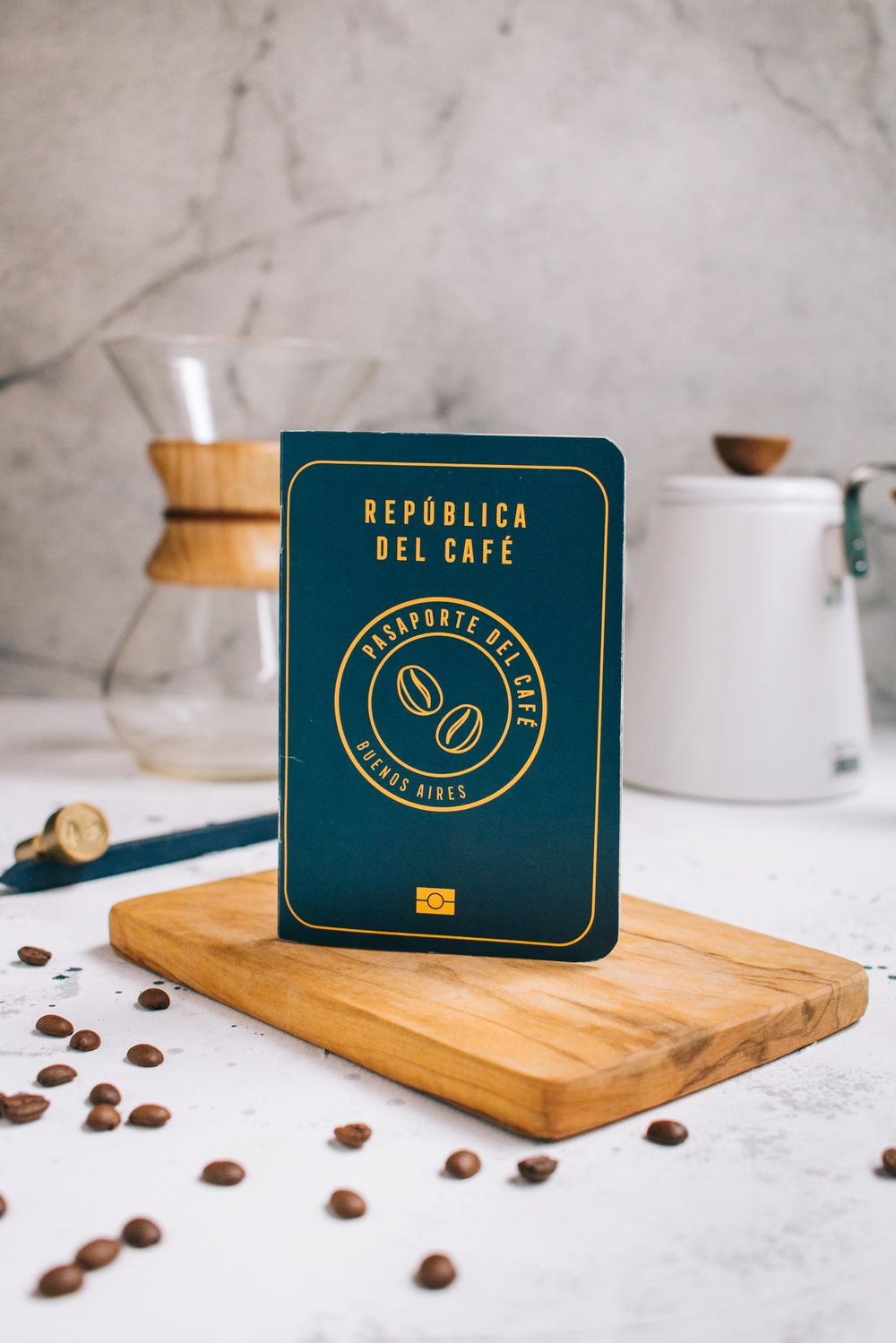 Coffee Passport - image 1 - student project