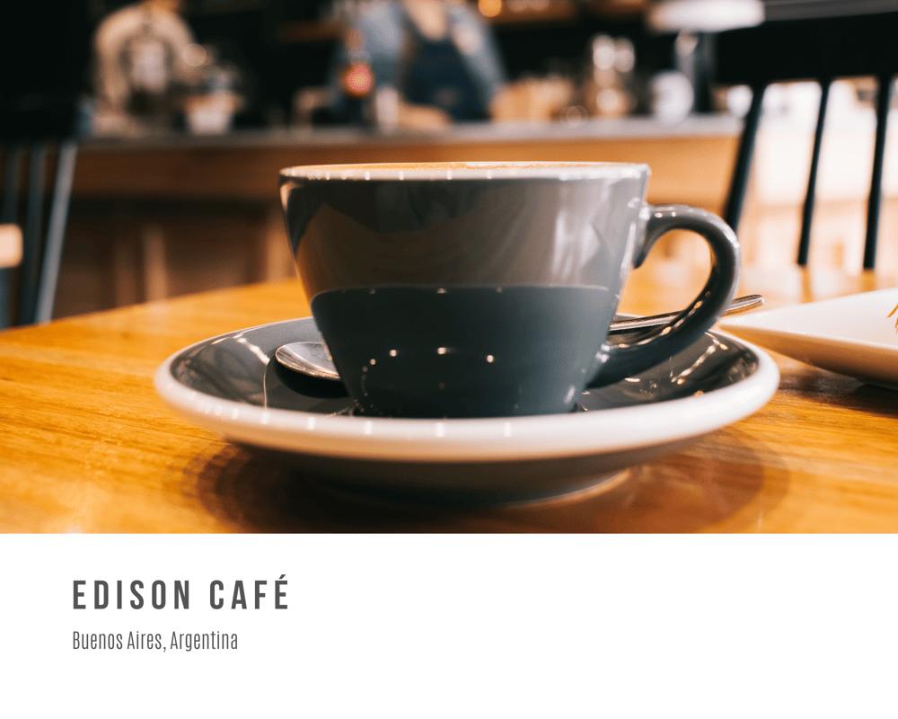 Edison Café - Photo album - image 1 - student project
