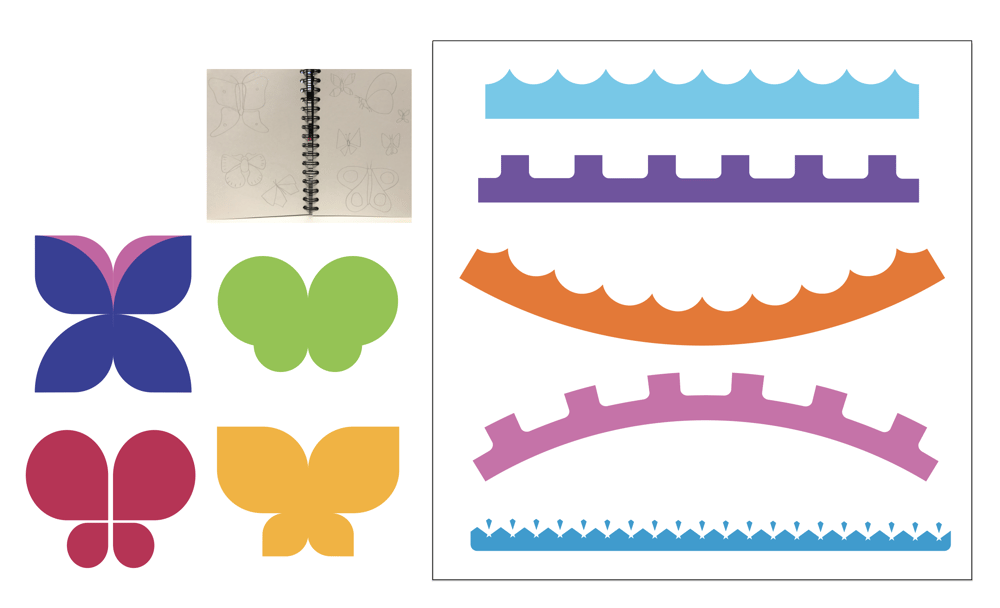 Drawing Butterflies in Illustrator - image 5 - student project