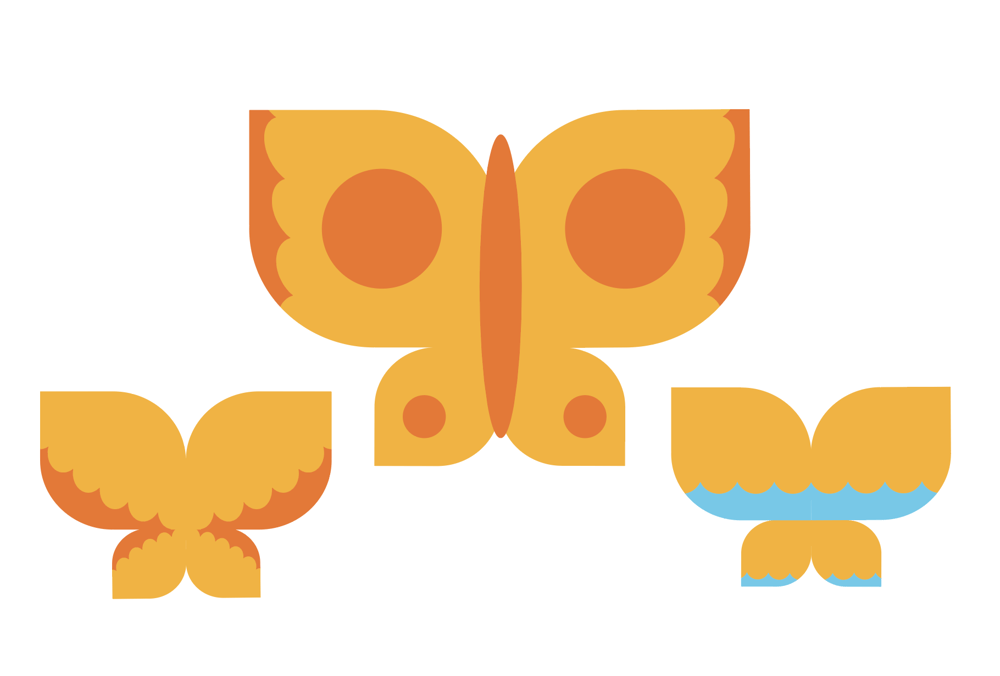 Drawing Butterflies in Illustrator - image 6 - student project