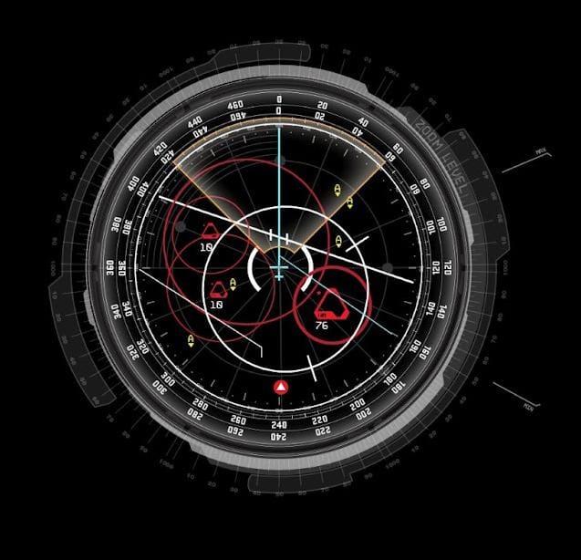 Iron Man Radar HUD - image 1 - student project