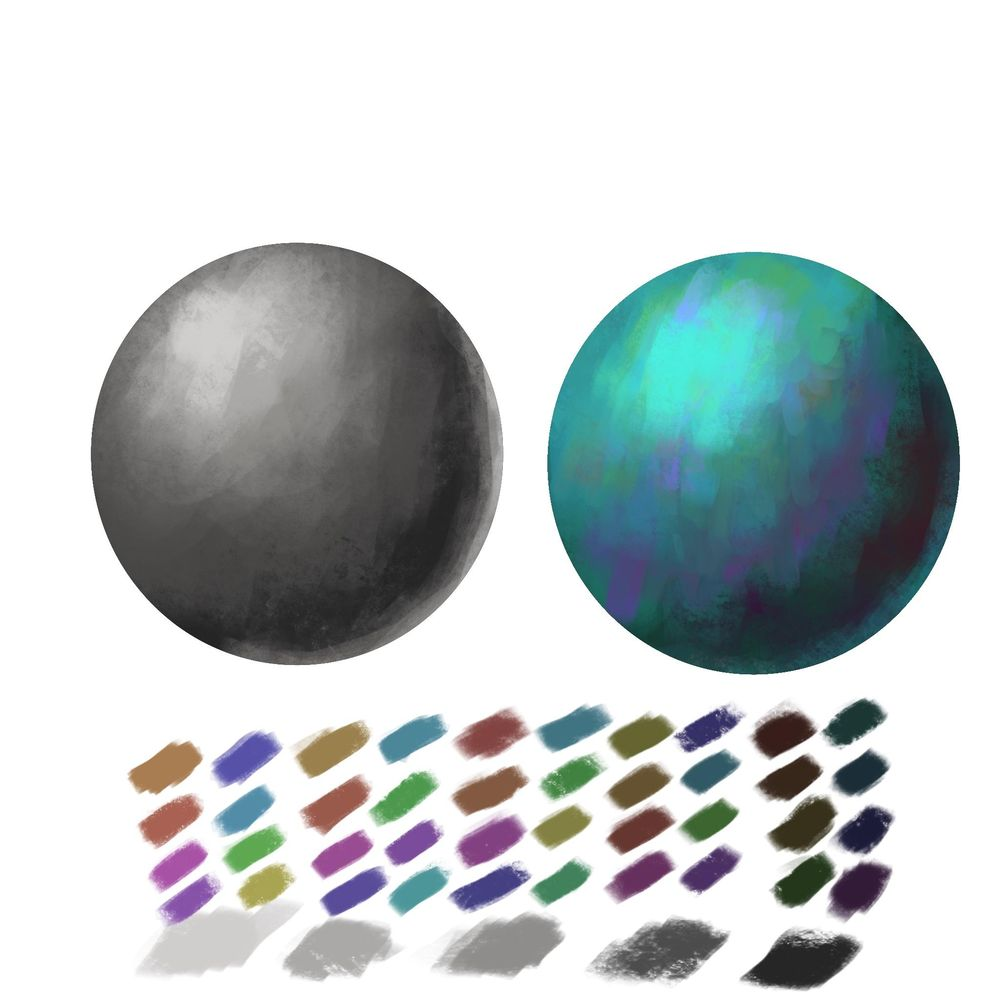 Value and color practices - image 1 - student project