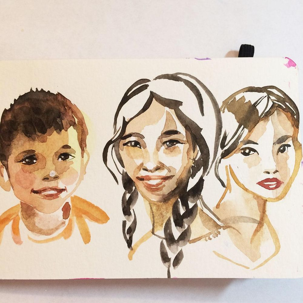 Attempting little faces... - image 2 - student project