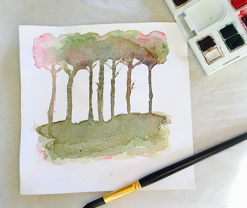 Abstract Trees - image 1 - student project
