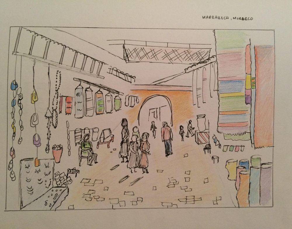 Marrakech - image 2 - student project