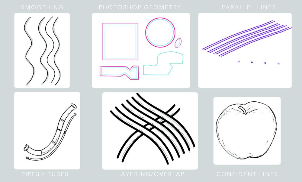 Line art - image 1 - student project