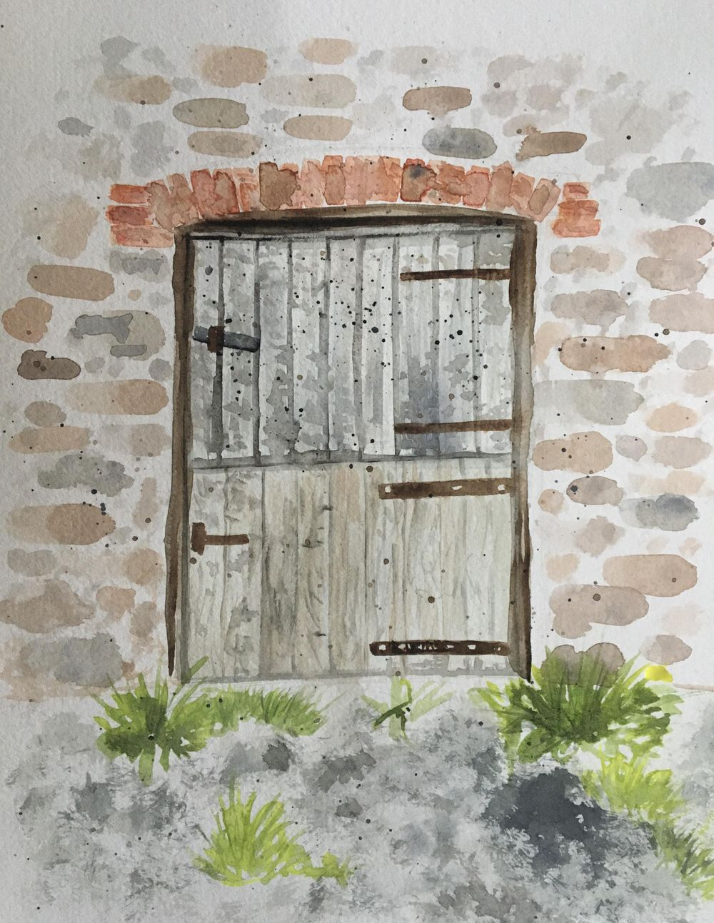 14 day watercolours challenge - image 1 - student project