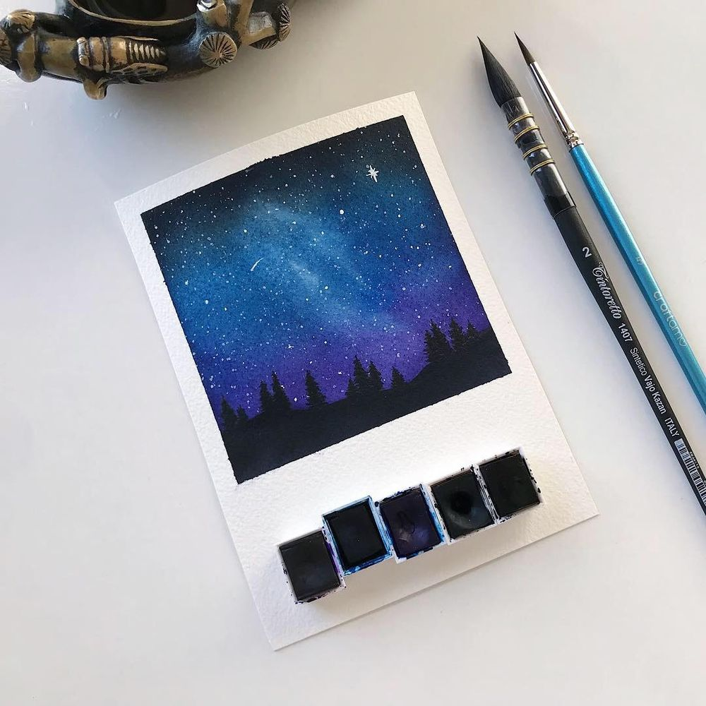 Polaroid Galaxies - image 6 - student project
