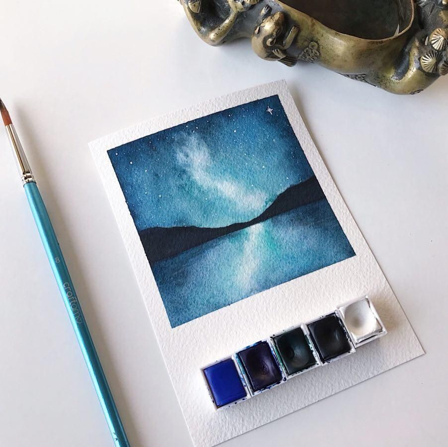Polaroid Galaxies - image 2 - student project