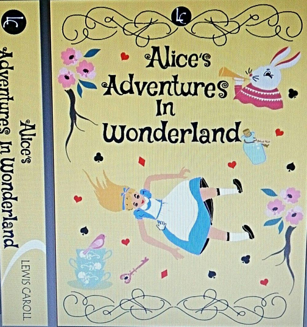 ALICE IN WONDERLAND BOOK COVER PROJECT UPDATED  - image 4 - student project