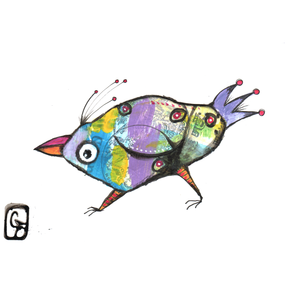 fantasy birds - image 2 - student project