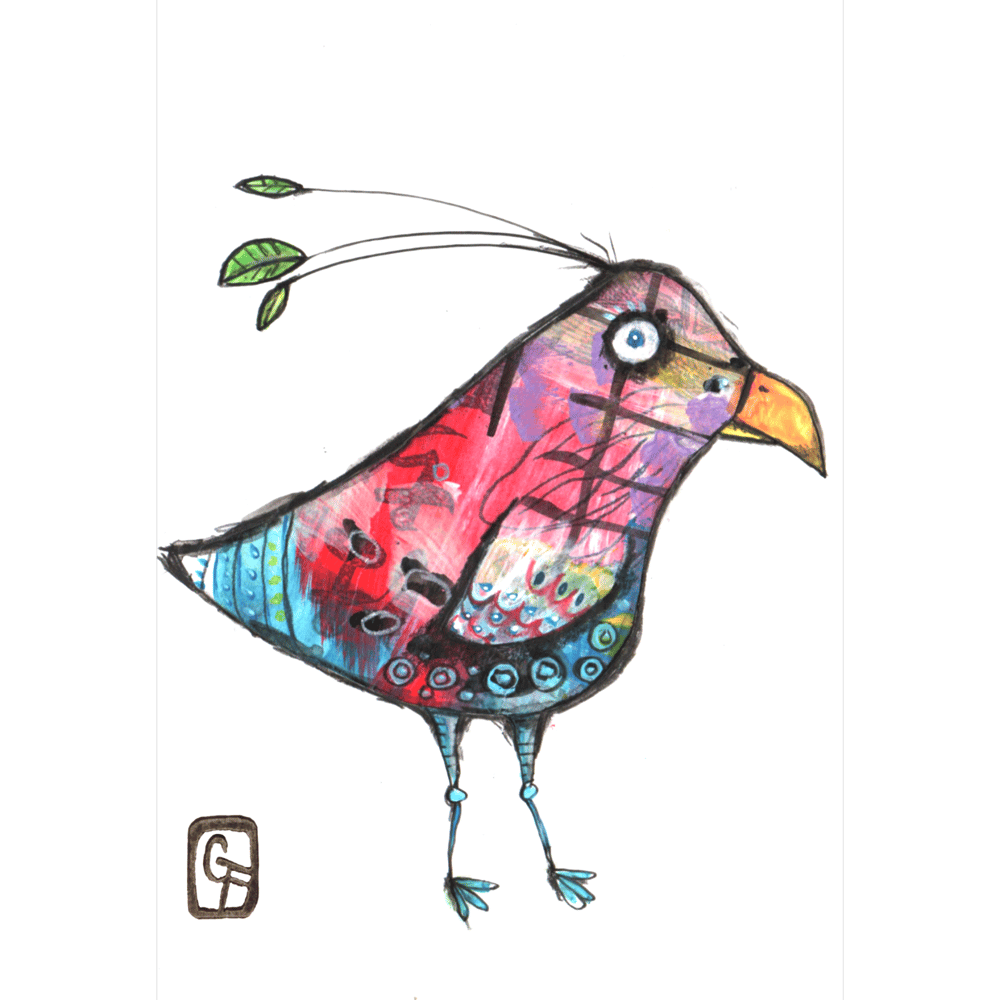 fantasy birds - image 1 - student project