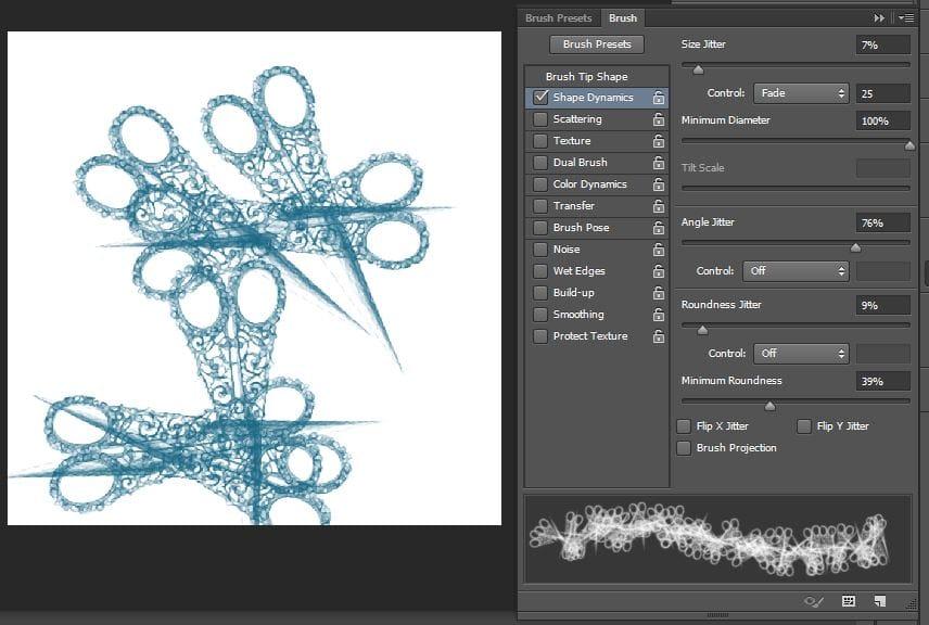 Custom brush - image 6 - student project