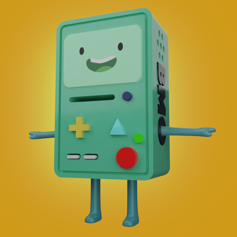 BMO - 3D Model - image 1 - student project