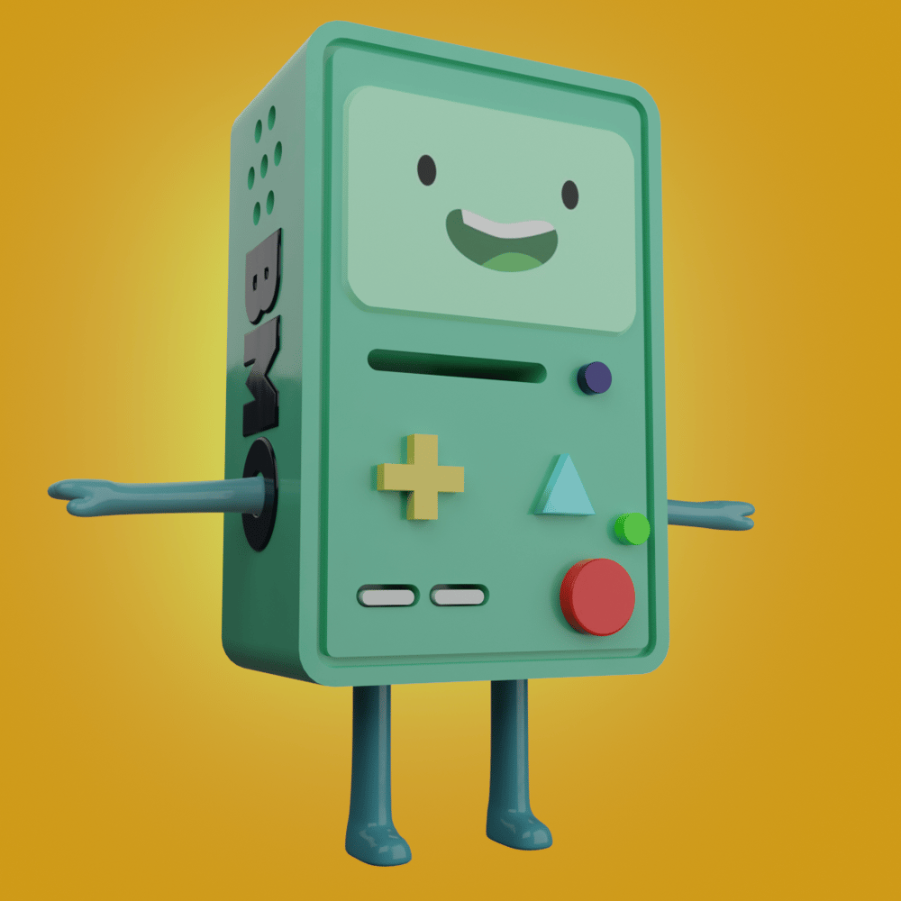 BMO - 3D Model - image 3 - student project