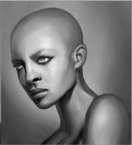 Portrait Painting - image 12 - student project