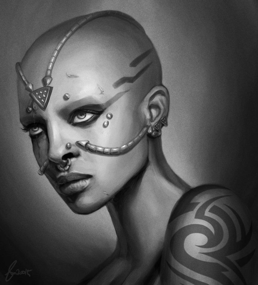 Portrait Painting - image 13 - student project