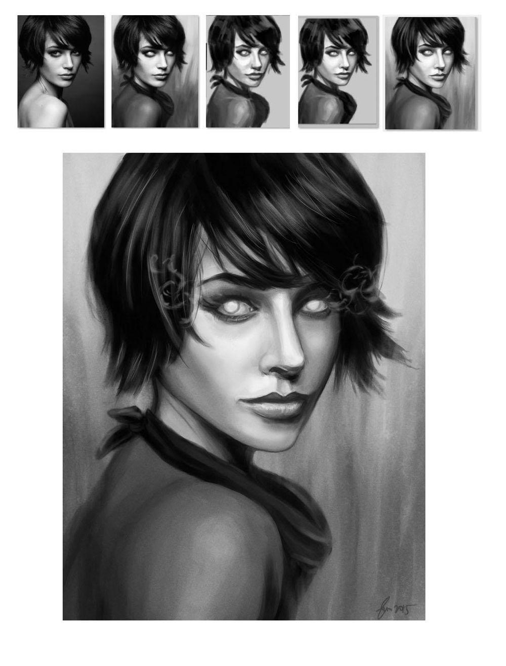 Portrait Painting - image 15 - student project