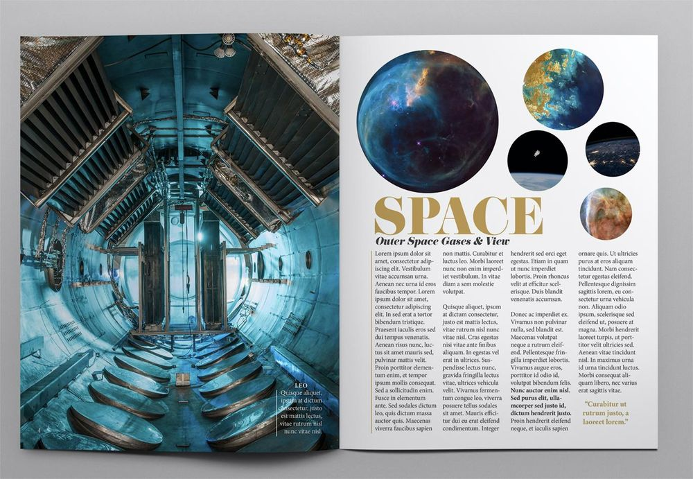 SPACE MAGAZINE - image 3 - student project