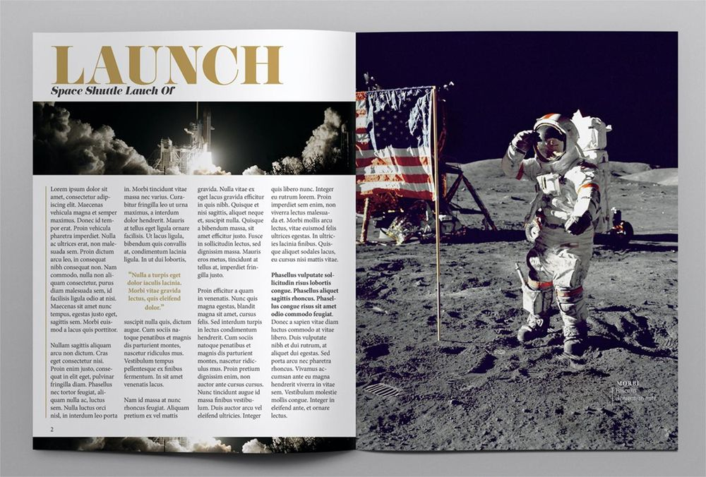 SPACE MAGAZINE - image 2 - student project