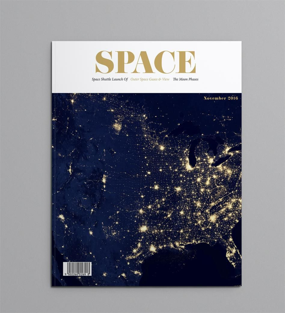 SPACE MAGAZINE - image 1 - student project