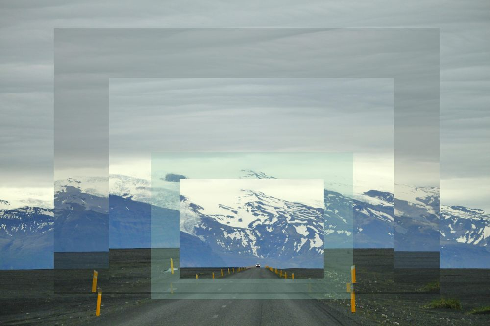 Iceland Ring Road, using GIMP - image 1 - student project