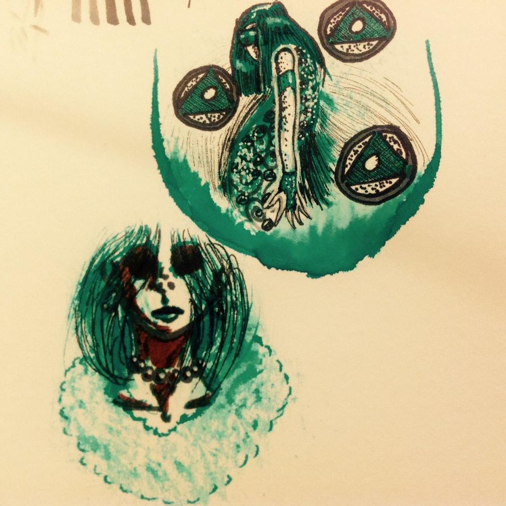 Ink doodles - image 3 - student project