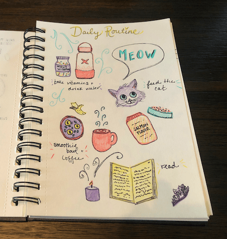 Illustrated Journaling - image 2 - student project