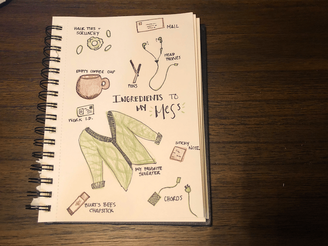 Illustrated Journaling - image 3 - student project