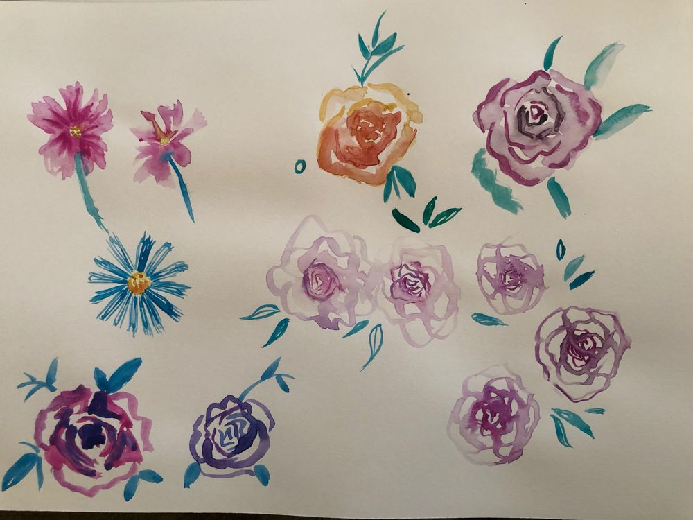 florals - image 2 - student project