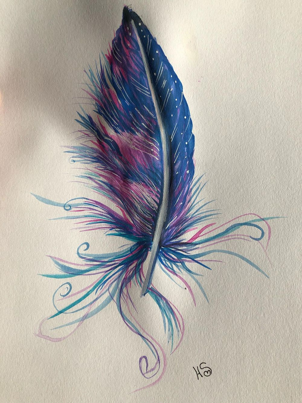 magic feather - image 1 - student project