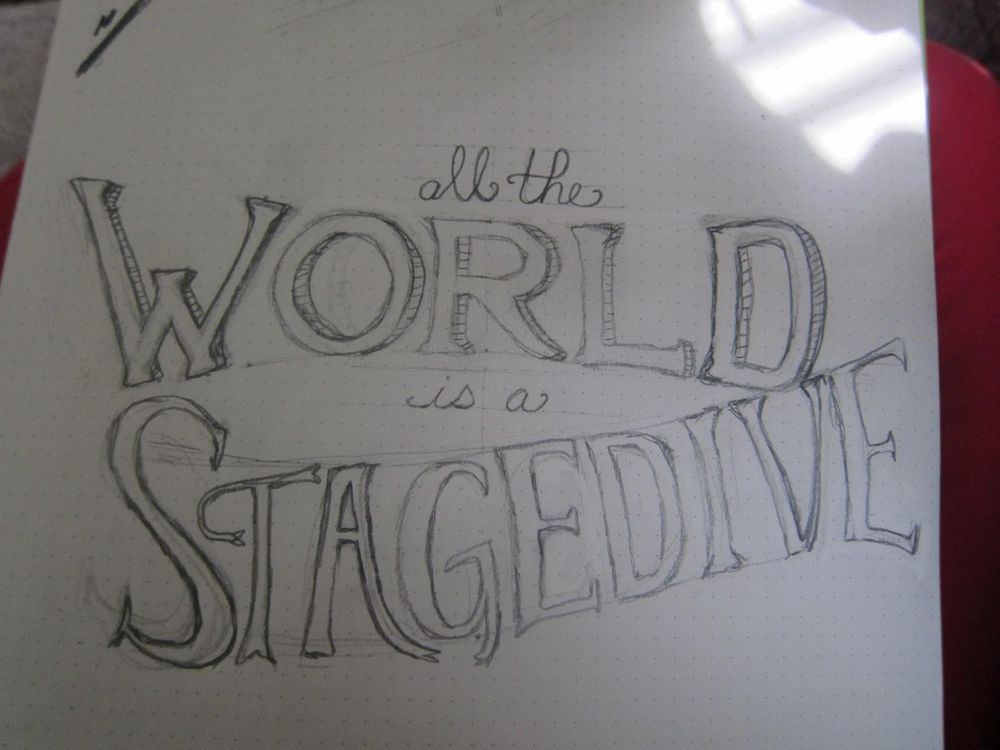 All the World is a Stagedive - image 1 - student project