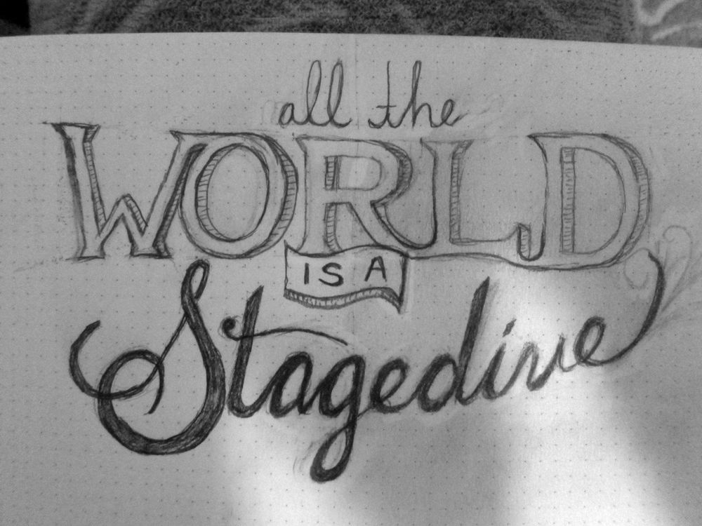All the World is a Stagedive - image 2 - student project