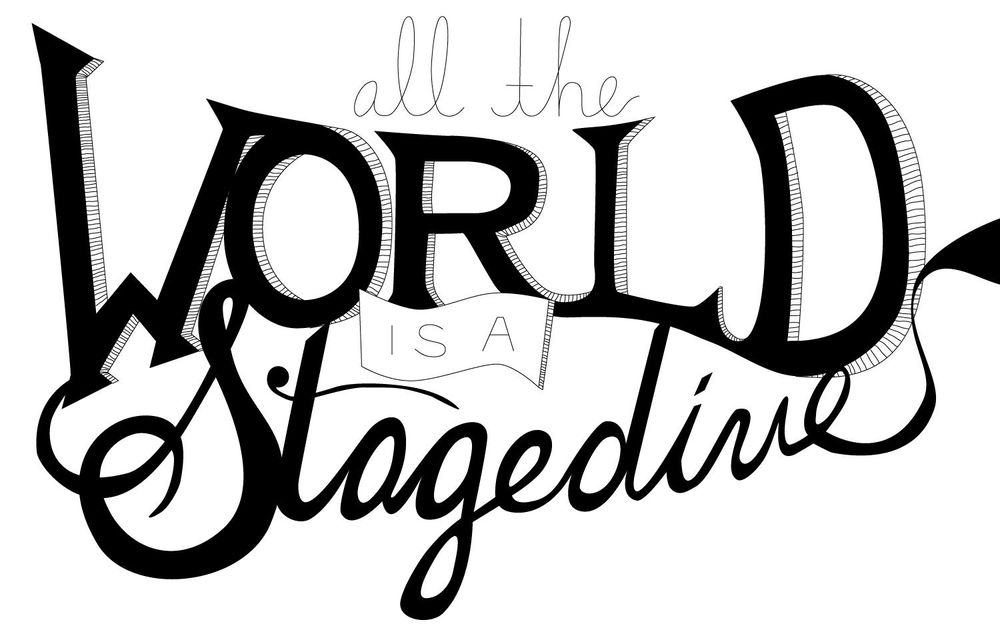 All the World is a Stagedive - image 3 - student project