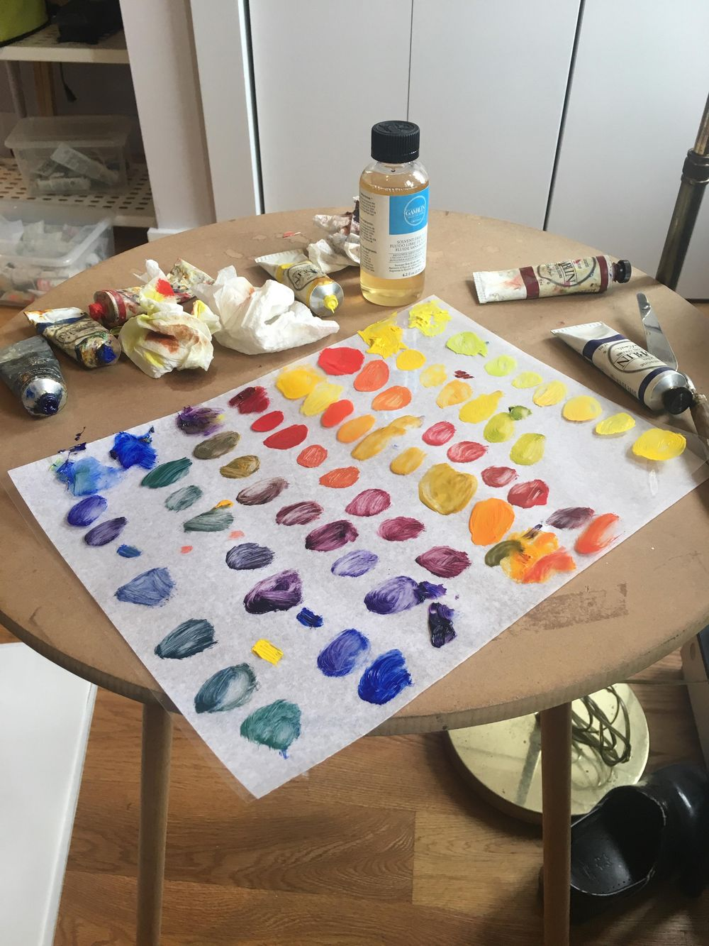 Mixing colors - image 1 - student project