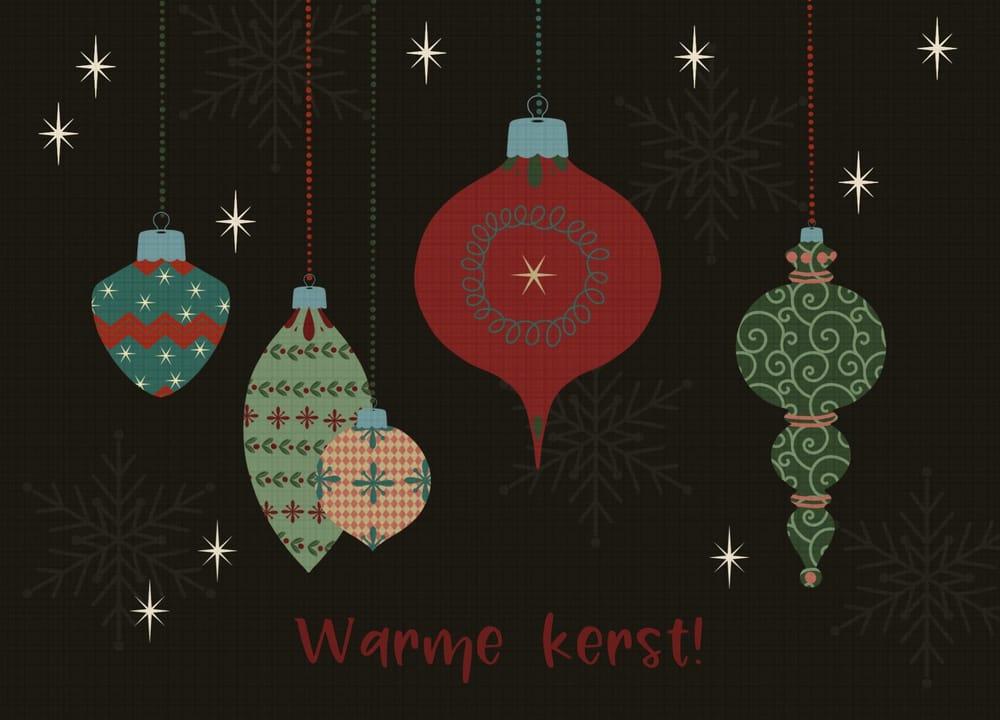 Retro kerstballen - image 1 - student project