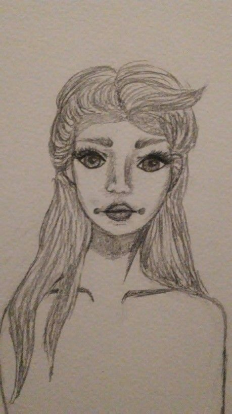 First Attempt At My Female Character - image 1 - student project