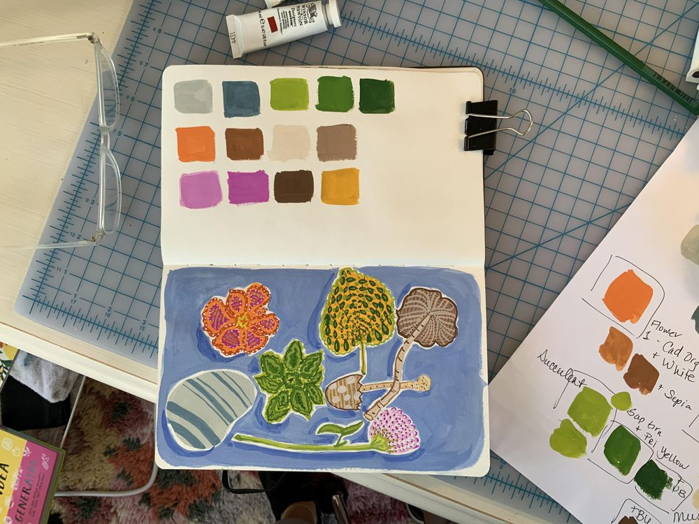 Adventures in Gouache - image 1 - student project