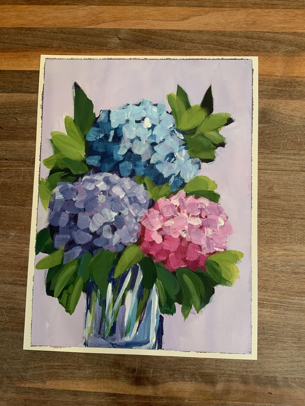 Abstract Hydrangeas - image 1 - student project