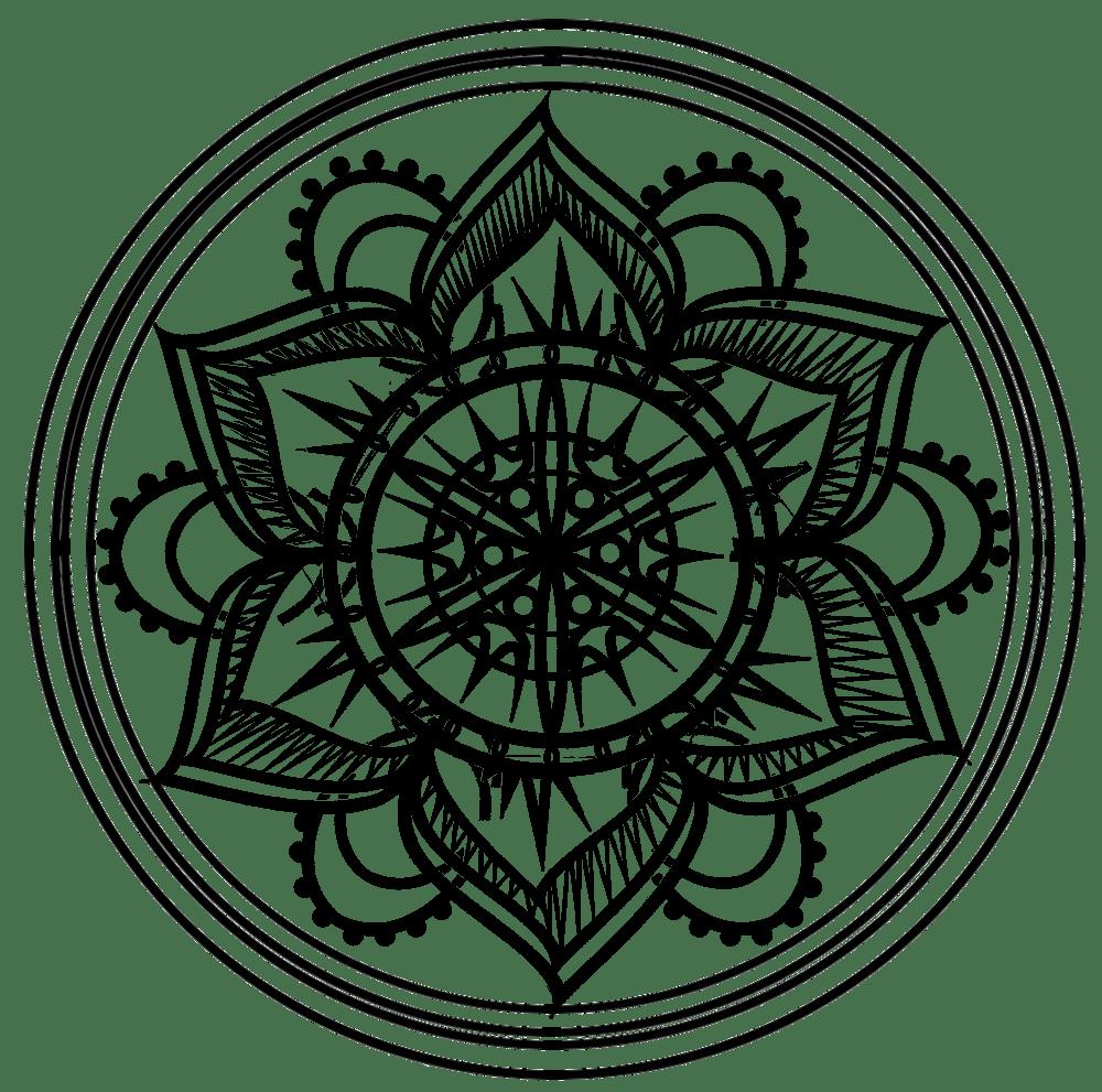 Mandala design and brushes - image 1 - student project