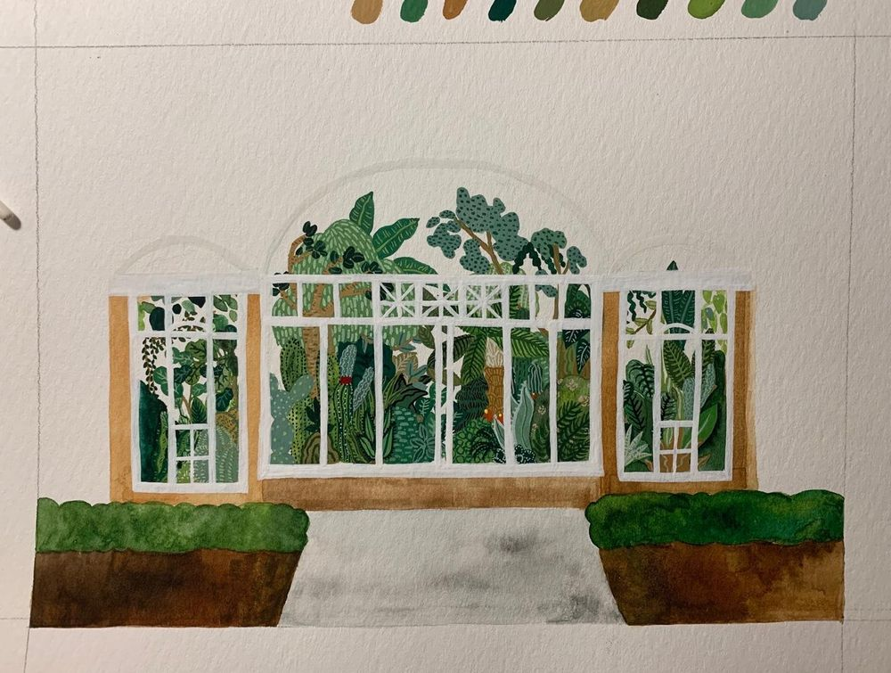 Allen Gardens Conservatory, Toronto Canada - image 6 - student project