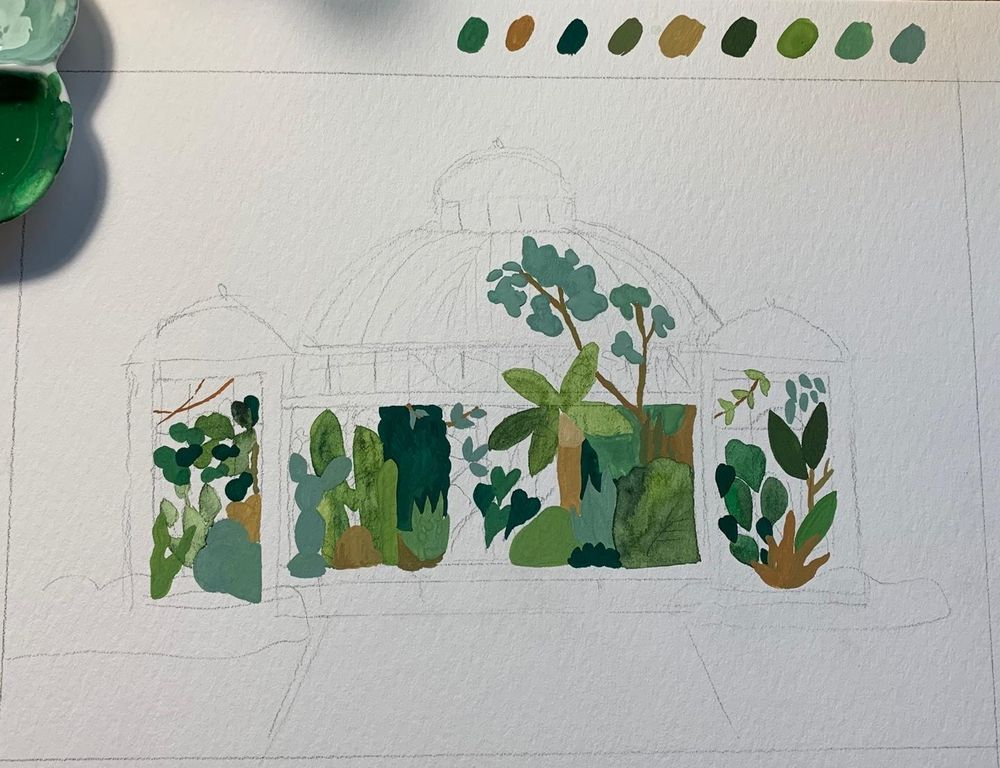 Allen Gardens Conservatory, Toronto Canada - image 3 - student project